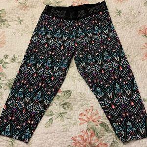 Victoria's Secret PINK cropped leggings